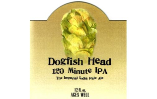 Dogfish Head 120 Minute IPA cover