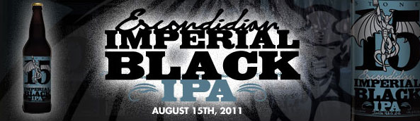 Stone 15th Anniversary Escondidian Imperial Black IPA cover