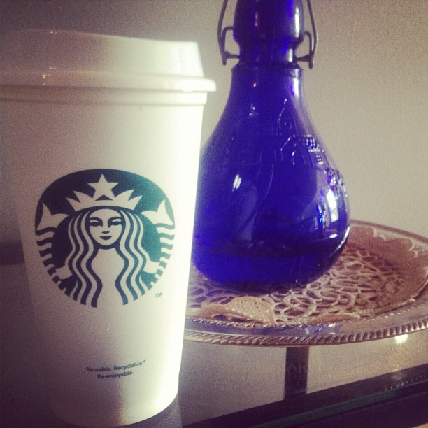 Reusable Starbucks cups cover
