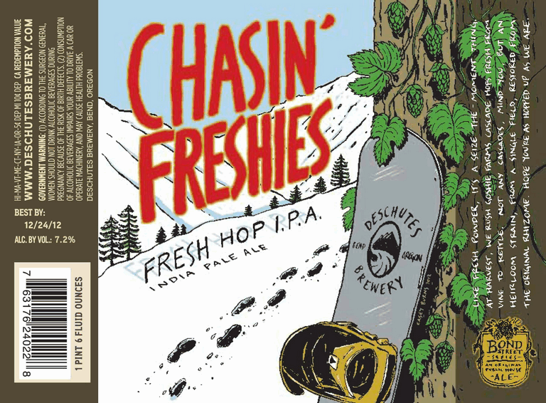 Deschutes Chasin' Freshies cover