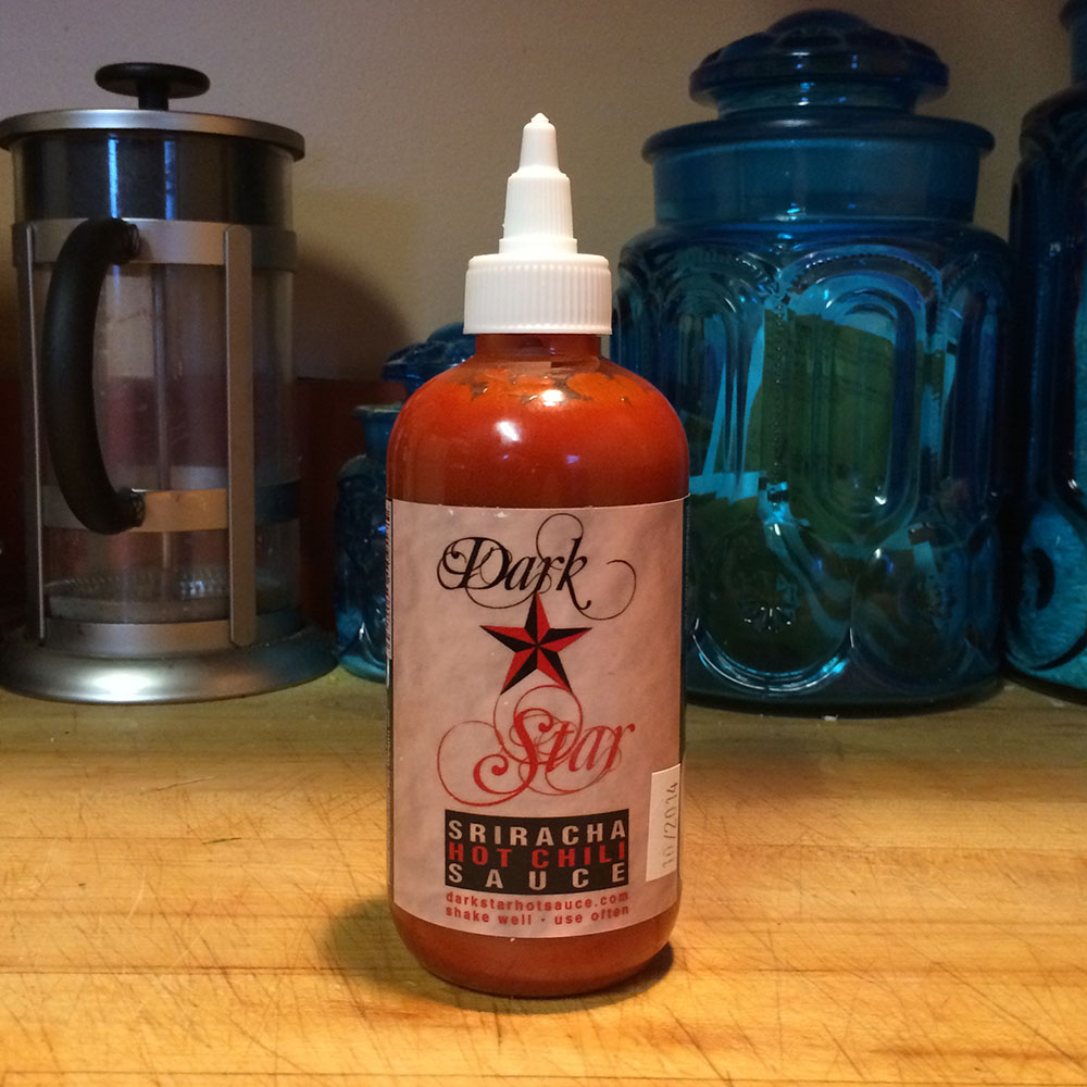 Dark Star Sriracha Hot Chili Sauce cover