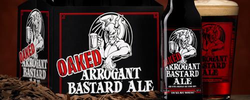 Stone Oaked Arrogant Bastard Ale cover